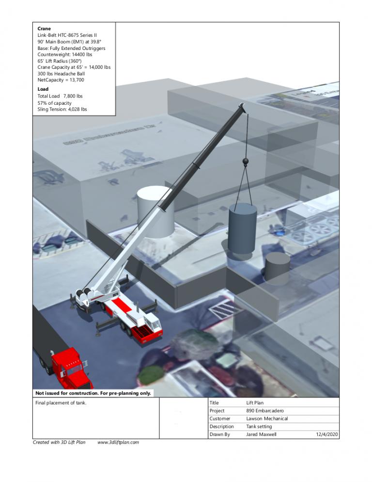 3D Lift Plan - 890 Embarcadero