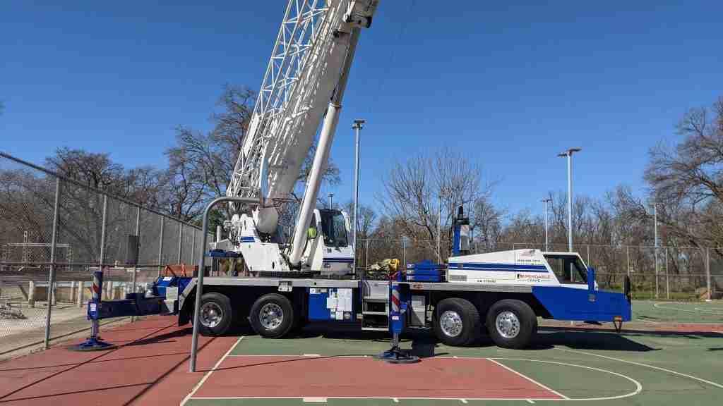 crane rental for government agencies