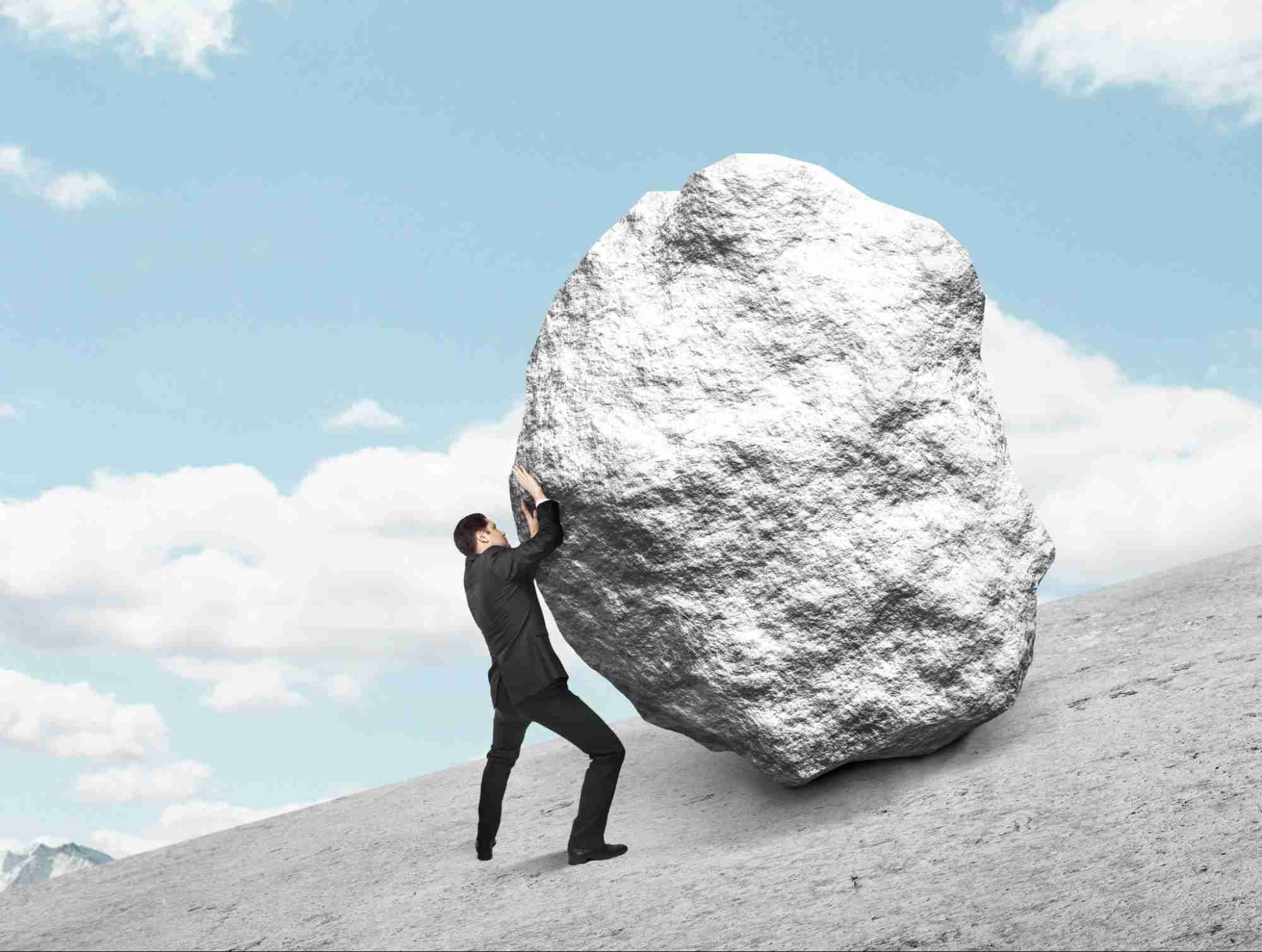 Why You Should Hire A Crane Setting Landscaping Boulders